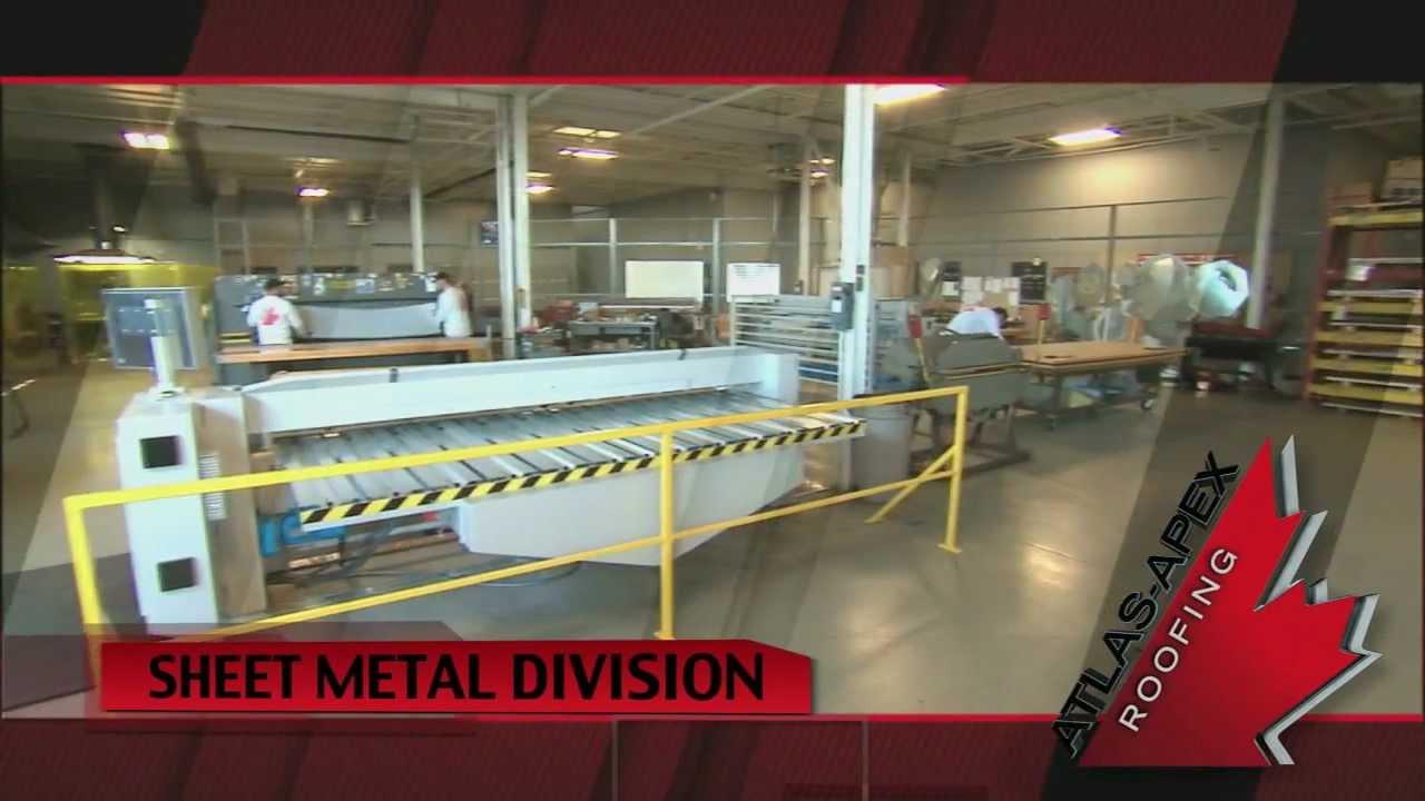 Atlas Apex Roofing Inc.   Sheet Metal Division