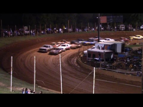 Winder Barrow Speedway Street Stock Feature Race 8/29/15