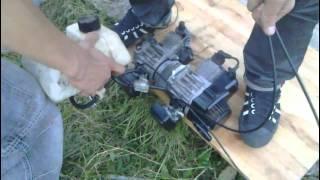 couplage moteur 50cc - 2eme test