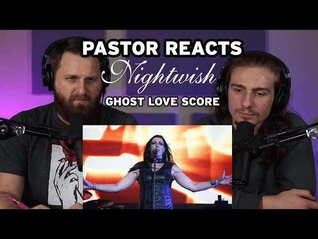 Nightwish Ghost Love Score Official LIVE // Pastor Rob Reaction // Song Analysis