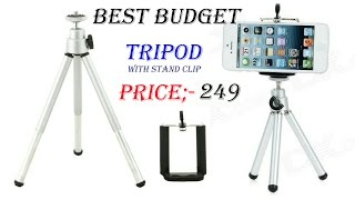 best budget tripod for mobile phones and point & shoot cameras..better than gorilla tripod