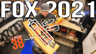 Fox 2021 - La nuova 36, 38, 40 e gli ammortizzatori X2!