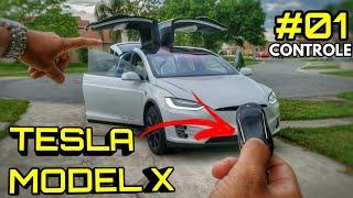INCRÍVEL Tesla Model X 😍 Parte #01 CONTROLE