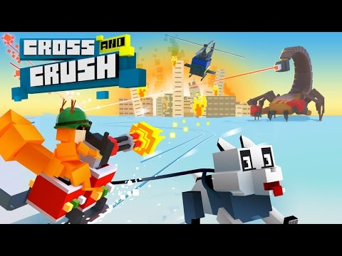 New game Cross And Crush: crush them all!
