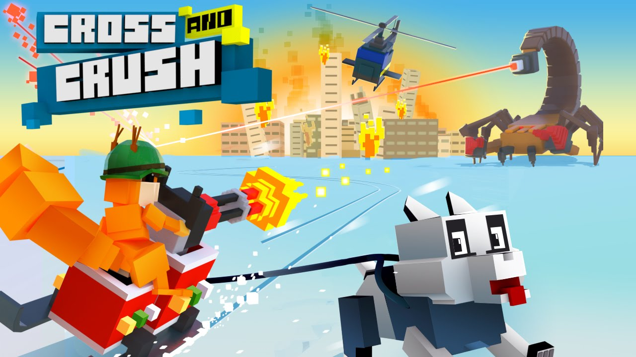 New game Cross And Crush: crush them all!
