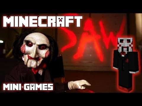 JIGSAW does MINECRAFT (I want to play a game...a Minecraft mini-game!!)