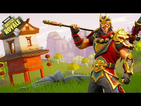 HIKEPLAYS: Fortnite Battle Royale - MONKEY POWER!!!