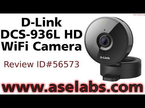 D-Link DCS-936L HD WiFi Camera Review - ASE Labs