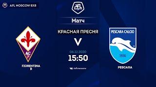 AFL20 Italy Serie C Day 12 Fiorentina B Pescara