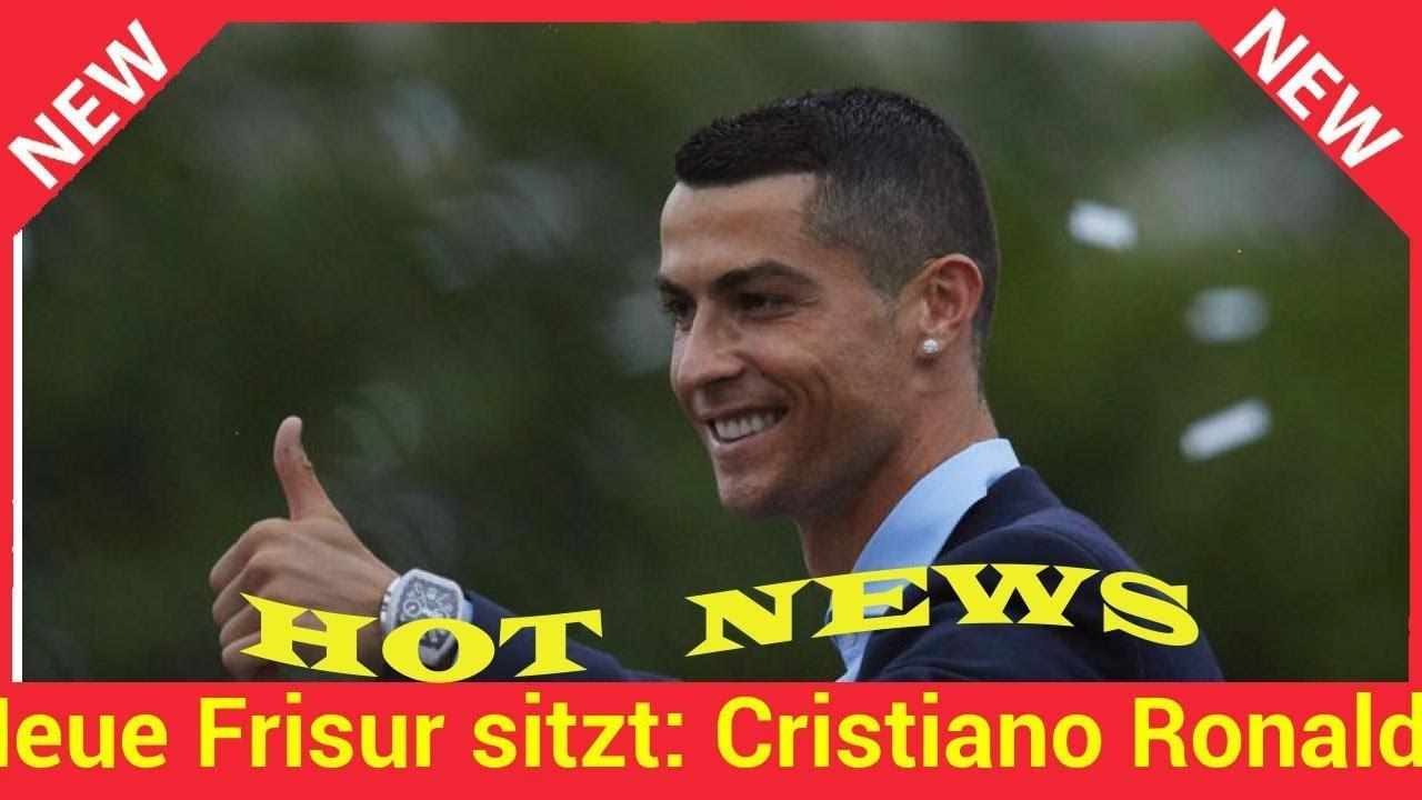 Neue Frisur Sitzt Cristiano Ronaldo Ist Bereit Für Wm 2018 Youtube