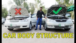 HOW TO CHECK BODY STRUCTURE OF USED CARS | PART 3| PAKISTAN
