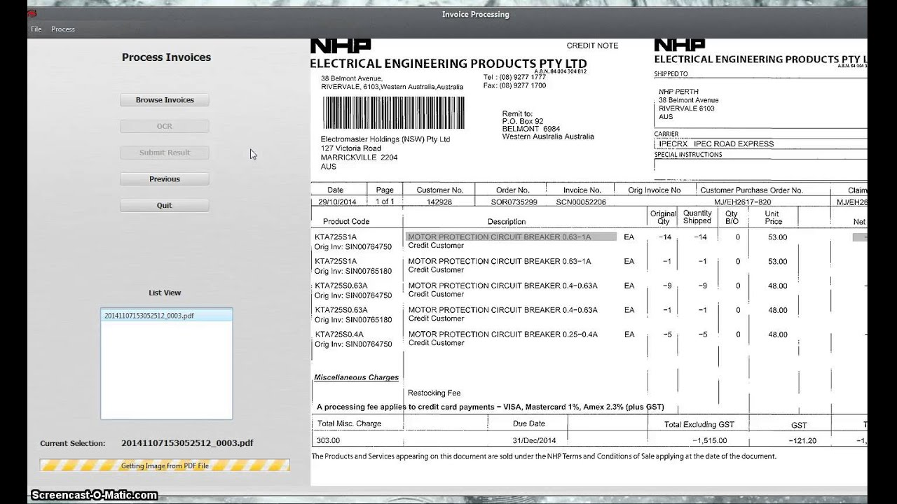 OCR Invoice Processing YouTube - Invoice ocr software