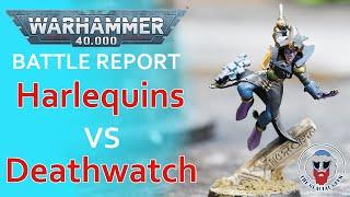 Harlequins VS Deathwatch - Warhammer 40K Batrep - 1,000 pts