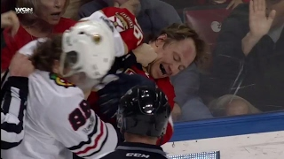 Gotta See It: Kane, Jokinen drop the gloves... kind of