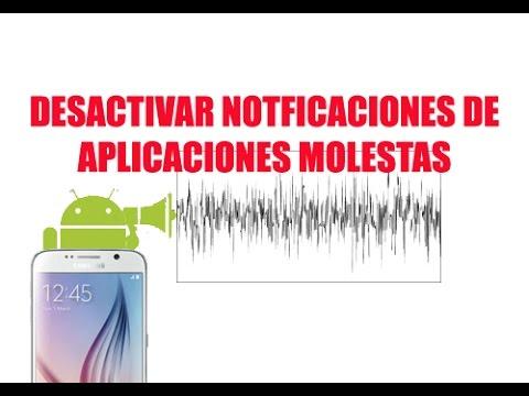 Desactivar las notificaciones en aplicaciones Android