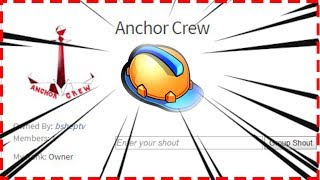 ⭕ ROBLOX: JOIN THE ANCHOR CREW ROBLOX GROUP!