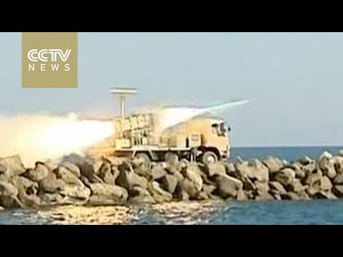 Iranian navy fires Noor cruise missiles in drill