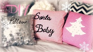 DIY Decorative Christmas Pillow