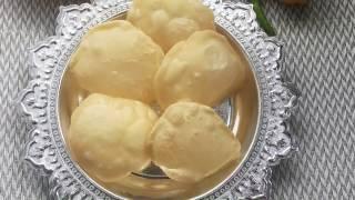 Luchi recipe bangla How to make Luchi