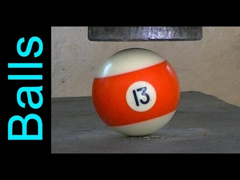 Thumbnail: 14 Different Balls vs Hydraulic Press