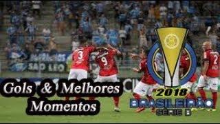 São Bento x Brasil de Pelotas - Gols & Melhores Momentos Brasileirão Serie B 2018 20ª Rodada