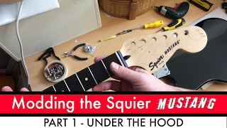 Modding the Mighty Bullet Mustang Part 1 - Under the Hood
