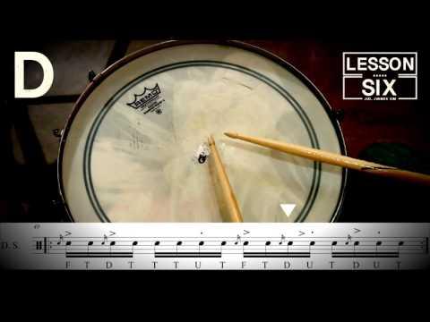 Jud's Drum Lesson Six Phrase #6(주드 킴)