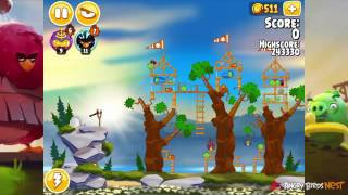 Angry Birds Seasons Summer Camp 1-11