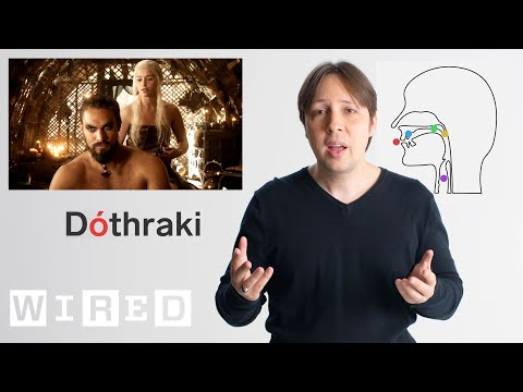 How to Create a Language: Dothraki Inventor Explains | WIRED