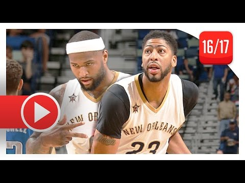 DeMarcus Cousins & Anthony Davis Full...