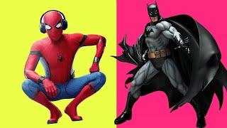 BATTLE! SPIDER-MAN VS BATMAN !