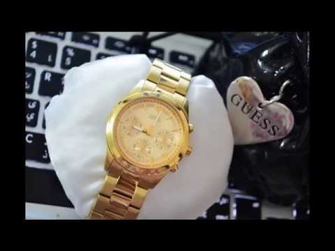 GUESS U13578L1 CONTEMPORARY LADIES WATCH FOR SALE - GOLD