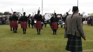 ILT City of Invercargill Highland Pipe Band - Timaru 2013 - Medley