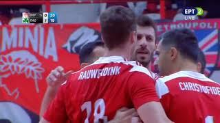 Ολυμπιακός - Παναθηναϊκός 3-1 ΣΕΤ (21/1/2019)  Στιγμιότυπα   Volley League 13η Αγωνιστική