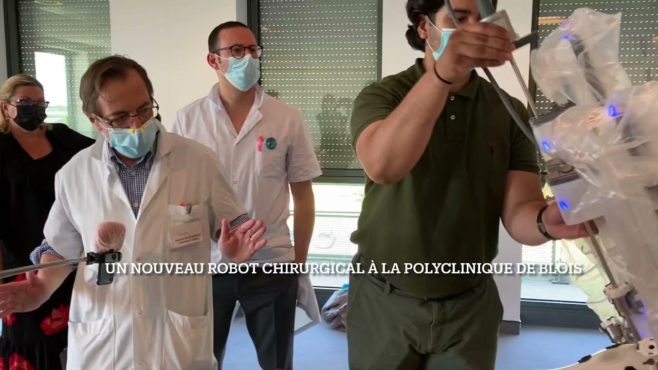 VIDÉO. Un robot révolutionne la chirurgie à la Polyclinique de Blois