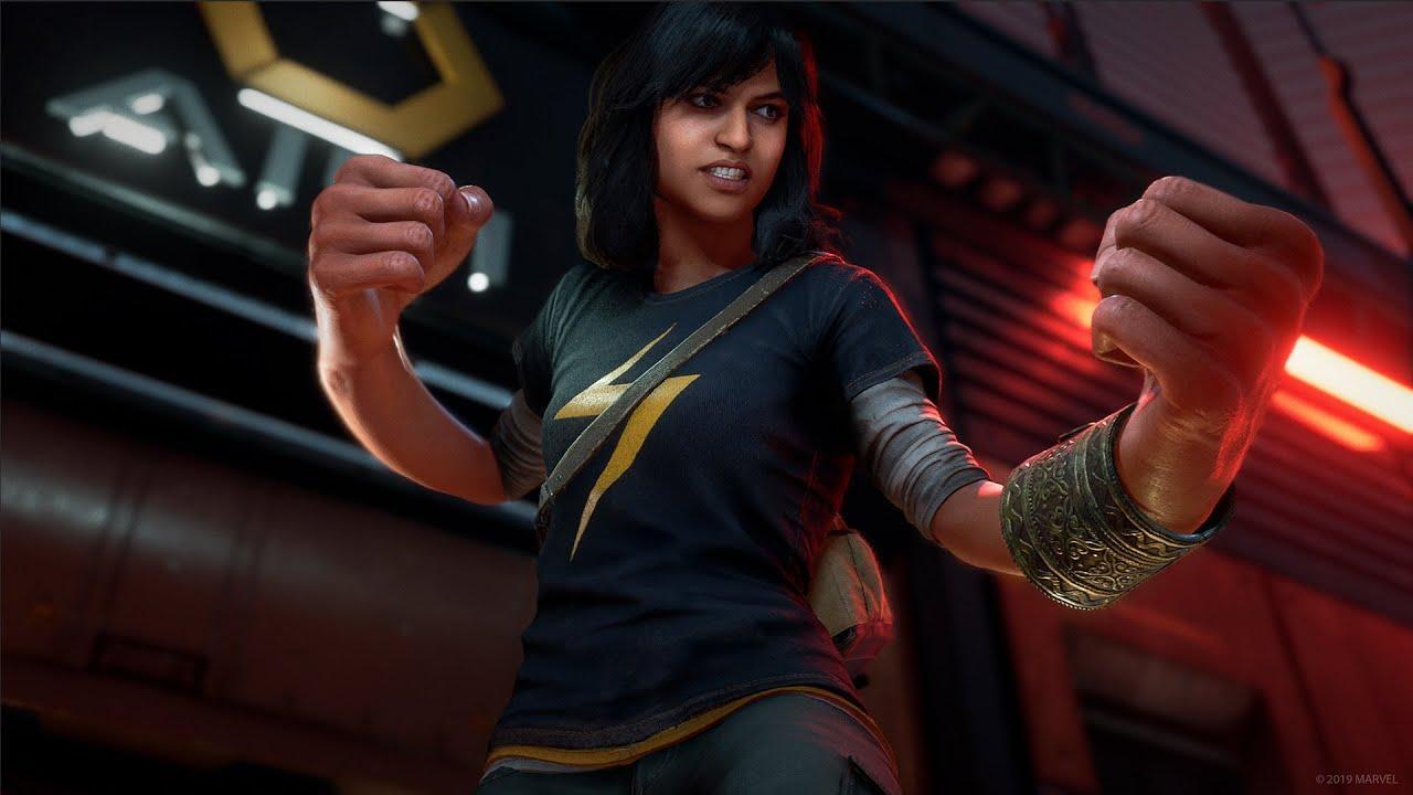 Marvel's Avenger kamala khan