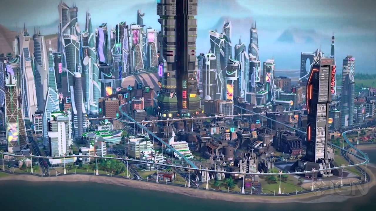 Beautiful 3d Wallpaper For Android Simcity Cities Of The Future Preview Youtube