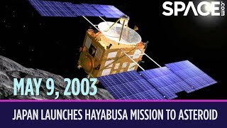 OTD in Space – May 9: Japan Launches Hayabusa Mission to Asteroid