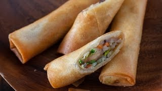 Vegetable Spring Rolls (Egg Rolls)