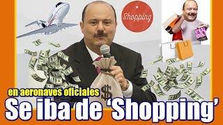 Duarte utilizaba aeronaves del estado para ir de compras a EU