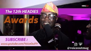Voice Out TV at The Headies Music Awards - Red Carpet / #inmyfeelings #dotheshiggy