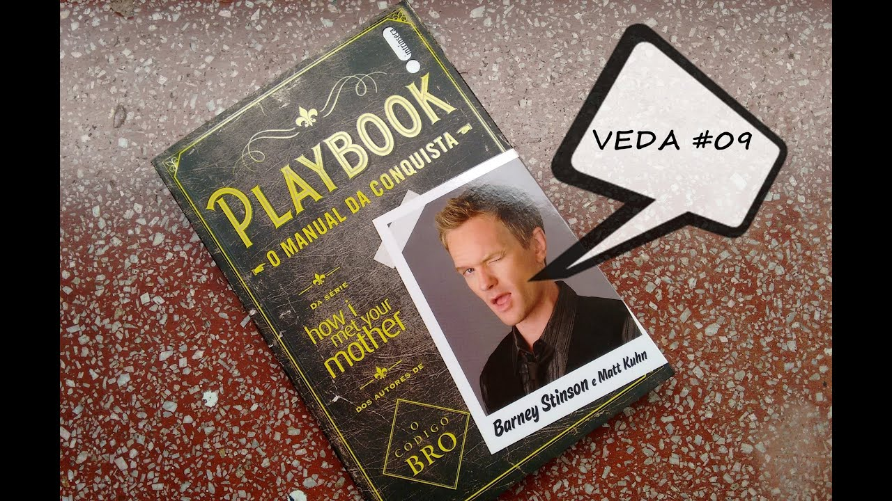 "VEDA #09 Book Review - ""Playbook: O Manual da Conquista"