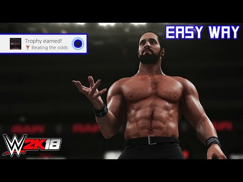 WWE 2K18 - Beating the odds (Trophy/Achievement) | Easy Way
