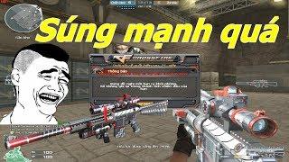 [ Bình Luận CF ] Knight SR-25-Titan - Sniper Liên Thanh Mạnh Nhất CF - Tiền Zombie v4