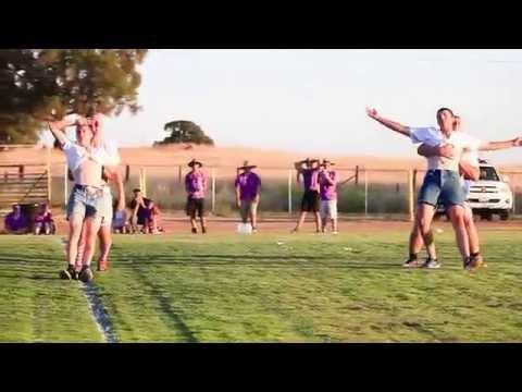 Argonaut High School Powder Puff Halftime Routine 2014