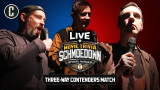 LIVE EVENT! Star Wars Triple Threat #1 Contender Match - Movie Trivia Schmoedown