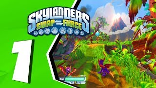 Skylanders Swap Force (Redo) Walkthrough Part 1: Mount Cloudbreak [Playstation 4]