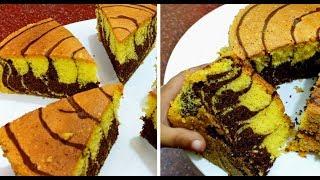 So Yummy ! Marble Cake /  മണൽ ഉപയോഗിച്ച് പെർഫെക്ട് ആയി കേക്ക് ബേക്ക് ചെയ്യാം | Recipe : 285