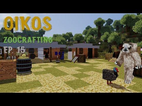 Oikos - Ep 15 A South African Ex-QUAGGA-ganza! (ZooCrafting Modded Minecraft)