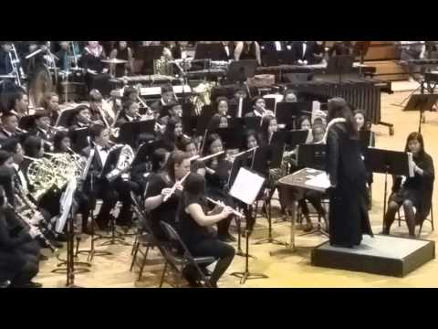 Wahiawa Middle School Band | English Folk Song Suite | Parade of Bands 2016
